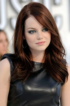 Emma Stone Hair Style File - Hairstyles And Colour (Vogue.com UK)