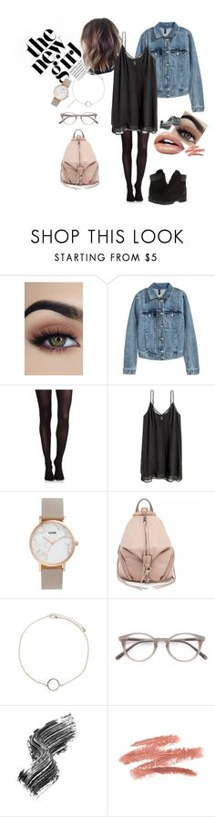 """School"" by misstoffyy on Polyvore featuring SPANX, Timberland, CLUSE, Rebecca Minkoff, Forever 21, Ace and Illamasqua"