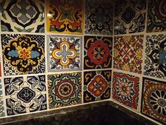 dusty coyote: mexican tile kitchen backsplash diy | cool tile