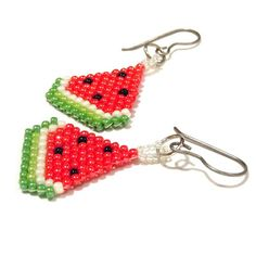 Handmade Cuties: I Love Your Smile!  #beadwork