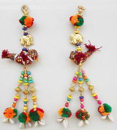 Indian tradctional wall décor art,Ethnic,Women handmade Wall hanging / Door hanging,Sparrow/Elephant decorative wall hanging,Rajasthani art