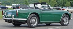Triumph TR4A - Green - Rear Angle