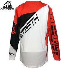 2017 Armteeth Moto Jersey MX MTB Off Road Mountain Bike DH Bicycle Jersey  BMX Motocross Shirts 639f06a61