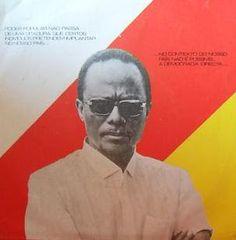 Angola - Discurso de Holden Roberto da FNLA em 1975 - Disco vinil single.