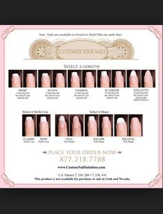 Nail length guide (very helpful)
