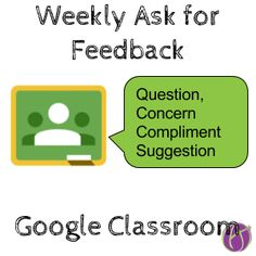 Google Classroom: Check In with Students