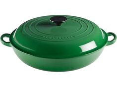 Le Creuset... in every shape and size... Fennel green, if you please