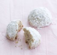 Lime-Nut Mexican Wedding Cookies