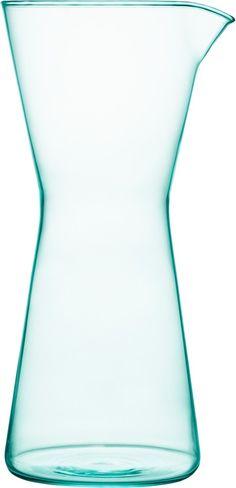 Iittala - Kartio Pitcher 95 cl water green - Iittala.com