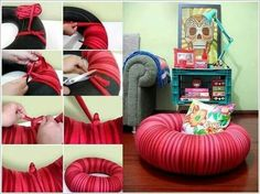 Great idea for a reading nook!!