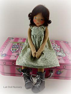 Diana - Waldorf inspired art doll :: Lali Doll Nursery Online Shop