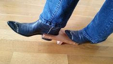 Handmade Boot Jack Accessory To Remove Cowboy Boots, Great Girlfriend Or Boyfriend Gift Boots Boot Pull