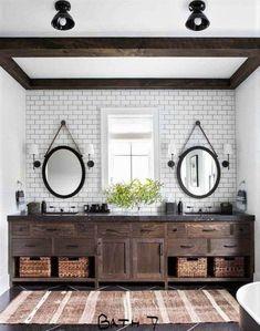 Dream Bathrooms, Beautiful Bathrooms, Bathrooms Suites, Master Bathrooms, Home Design, Interior Design, Design Ideas, Design Inspiration, 3d Design