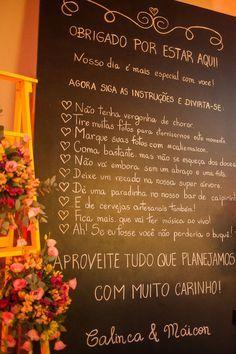 Amei o quadro com instruções para os convidados. minicasamento-vinicola-buscando-sonhos 19