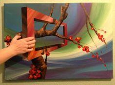 "Saatchi Art Artist Eka Peradze; Painting, ""3D Nature. #88 - 50x70cm.SOLD"" #art"