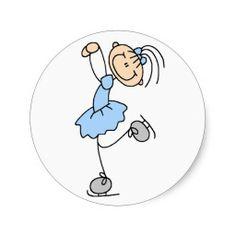 Girl In Blue Ice Skater Sticker http://www.zazzle.com/girl_in_blue_ice_skater_sticker-217366112427986020?rf=238194283948490074&tc=pfz