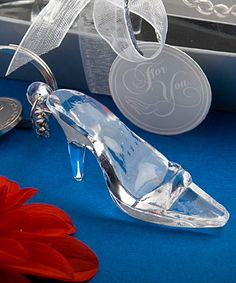 CINDERELLA SHOE / GLASS SLIPPER KEYCHAIN FAVOR