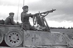 Column of StuGs from 7.SS-Freiwilligen Gebirgs Division «P… | Flickr