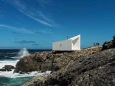 Squish Studio Fogo Islands, Canada.  A project by: Saunders Architecture
