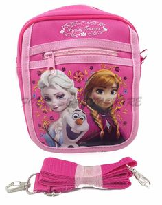 Disney Frozen Queen Elsa Camera Bag Case Little Girl Bag Handbag Licensed - Pink * Awesome product. Click the image : Christmas Luggage and Travel Gear