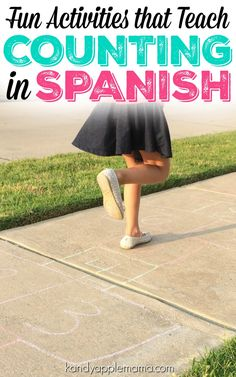 Looking for fun ways to teach counting in Spanish? We're sharing the best ways to teach your little ones how to count in a foreign language! Learning Spanish For Kids, Spanish Lessons For Kids, Spanish Basics, Spanish Games, Spanish Language Learning, Learning Through Play, Foreign Language, Spanish Class, Service Projects For Kids