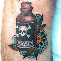 poison tattoo - Google Search