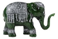 Vyasa's Jade Elephant: Created by revered Hindu scribe Vyasa as a result of his work with electricity. Imbued with the ability to absorb and project electrical energy, great care must be taken to not overcharge the artifact beyond its capacity. Seen in the Warehouse 13 Episode: The Big Snag