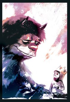 where the wild things are by ~rafaelalbuquerqueart on deviantart