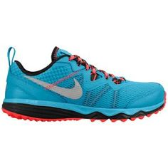 Nike Dual Fusion Trail - Women's - Dark Turquoise/Hyper Punch/Black/Metallic Silver for MOM