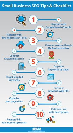 This SEO checklist for small businesses will tell you what to address, why it's important, which tools to use, and how much time you'll need to commit.  #seo #digitalmarketing #marketing #socialmediamarketing #socialmedia #webdesign #branding #business #marketingdigital #onlinemarketing #contentmarketing #website #google #searchengineoptimization
