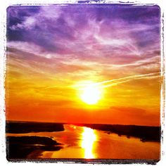 Sunset at Ocean Isle Beach, NC