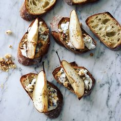 Pear Tartine