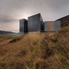 Built by ARKÍS architects in Egilsstadir, Iceland with date Images by Sigurgeir Sigurjónsson. Snæfellsstofa Visitor Center communicates the dignity of the surrounding nature and is closely connected to its immed. Space Architecture, Sustainable Architecture, Sustainable Design, Contemporary Architecture, Scandinavian Architecture, Architecture Student, Amazing Architecture, Landscape Materials, Built Environment
