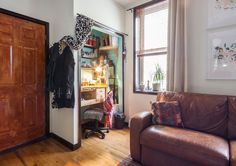 Creative New Yorkers are discovering space they did not know they had in their closets.