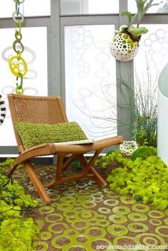 Moss Garden, trending in this years home decor