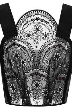 Delpozo's Embroidered Organza Top - The Cut