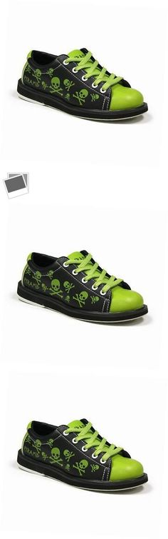 Youth 159108: Youth Skull Green Black Bowling Shoes -> BUY IT NOW ONLY: $55.59 on eBay!