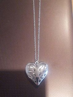 Items similar to Caroline Forbes - Vampire Diaries inspired heart necklace on Etsy Heart Shaped Necklace, Heart Pendant Necklace, Pendant Jewelry, Metal Necklaces, Metal Jewelry, Unique Jewelry, Jewelry Necklaces, Daylight Ring, Vampire Diaries Jewelry