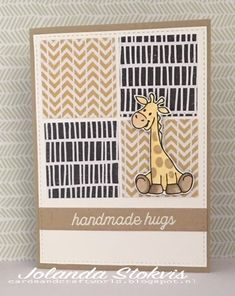 My Card and Craftworld: Match the sketch 222 - Marianne design - Crafts world Quick Cards, Cool Cards, Kids Cards, Baby Cards, Baby Zebra, Marianne Design, Animal Cards, Design Crafts, Homemade Cards
