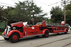 Long Fire Truck: Seagrave Aerial Ladder Truck | Flickr - Photo Sharing!