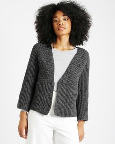 ETTA CARDIGAN / KIT Wool, Sweaters, Fashion, Moda, Fashion Styles, Sweater, Fashion Illustrations, Sweatshirts, Pullover Sweaters