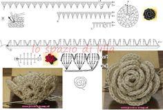 crochet+rosette3.jpg (1007×681)
