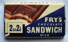Fry's Chocolate Sandwich