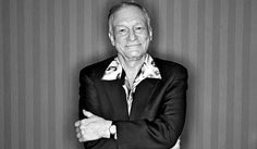 Hugh Hefner, and not because he's rich and famous but because he really is the coolest senior EVER!