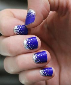 Another great find on #zulily! Cobalt Sparkle Nail Wrap - Set of Two by So Gloss Nail Wraps #zulilyfinds
