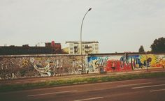 East Side Gallery, Berlin 2013.