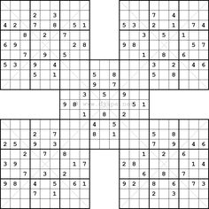 photograph regarding Washington Post Sudoku Printable called 29 Great intellect puzzles visuals inside of 2016 Intellect puzzles, Samurai