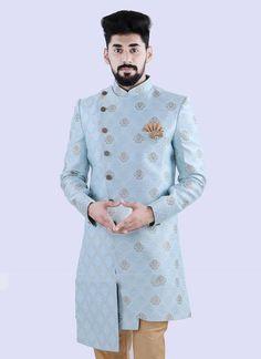 Western Dresses, Western Outfits, Indian Outfits, Sherwani For Men Wedding, Wedding Men, Designer Dress For Men, Dress Suits For Men, Kurta Men, Indian Groom Wear