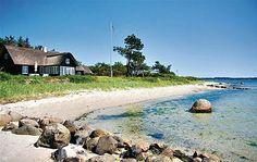 Ferienhaus am #Meer in Ostjütland, #Dänemark. Bei fewoVista.
