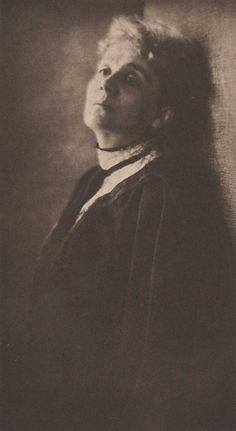 Baron Adolph de Meyer-Eleonora Duse,1905